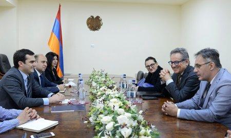 Իտալական կազմակերպությունը հետաքրքրված է Հայաստանում ճանապարհաշինական ծրագրերով