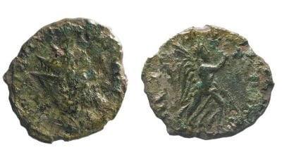 Բրիտանիայում հին հռոմեական հազվադեպ մետաղադրամ է հայտնաբերվել
