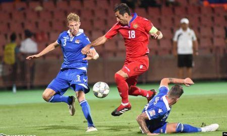 Հայաստանի հավաքականը հաղթեց Լիխտենշտեյնի ընտրանուն 3-0 հաշվով
