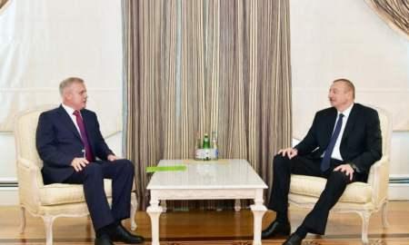 Ադրբեջանի նախագահը ընդունել է ՀԱՊԿ գլխավոր քարտուղարին