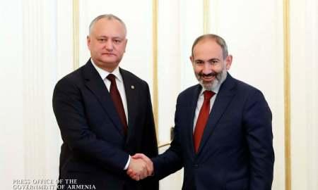 ՀՀ վարչապետը հանդիպել է Մոլդովայի նախագահին