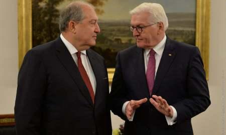 Արմեն Սարգսյանը շնորհավորական ուղերձ է հղել Գերմանիայի նախագահին՝ Միասնության օրվա առթիվ