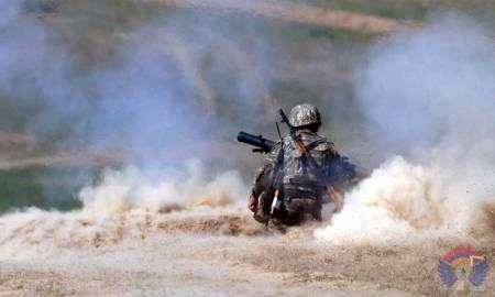 Ադրբեջանական կողմի դիվերսիոն ներթափանցման փորձը կանխած զինծառայողները պարգևատրվել են