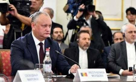 Մոլդովայի նախագահը ԵԱՏՄ-ի ու ԵՄ-ի միջև ազատ առևտրի մեծ գոտու ստեղծման հույս ունի