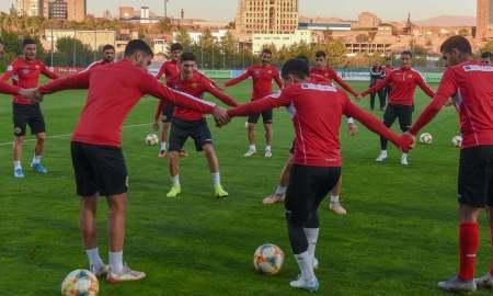 Հայաստանի Մ-21 հավաքականը Իտալիայի հետ խաղից առաջ վերջին մարզումն է անցկացրել