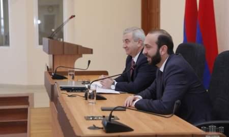 Համագործակցության միջխորհրդարանական հանձնաժողովի նիստ՝ ՀՀ և ԱՀ խորհրդարանների միջև