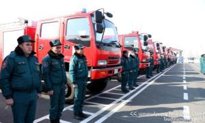 Ճապոնիան Հայաստանին է նվիրաբերել 22 հրշեջ մեքենա