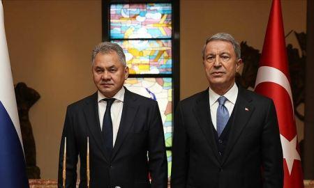 ՌԴ-ի և Թուրքիայի պաշտպանության նախարարները քննարկել են Սիրիայի իրավիճակը
