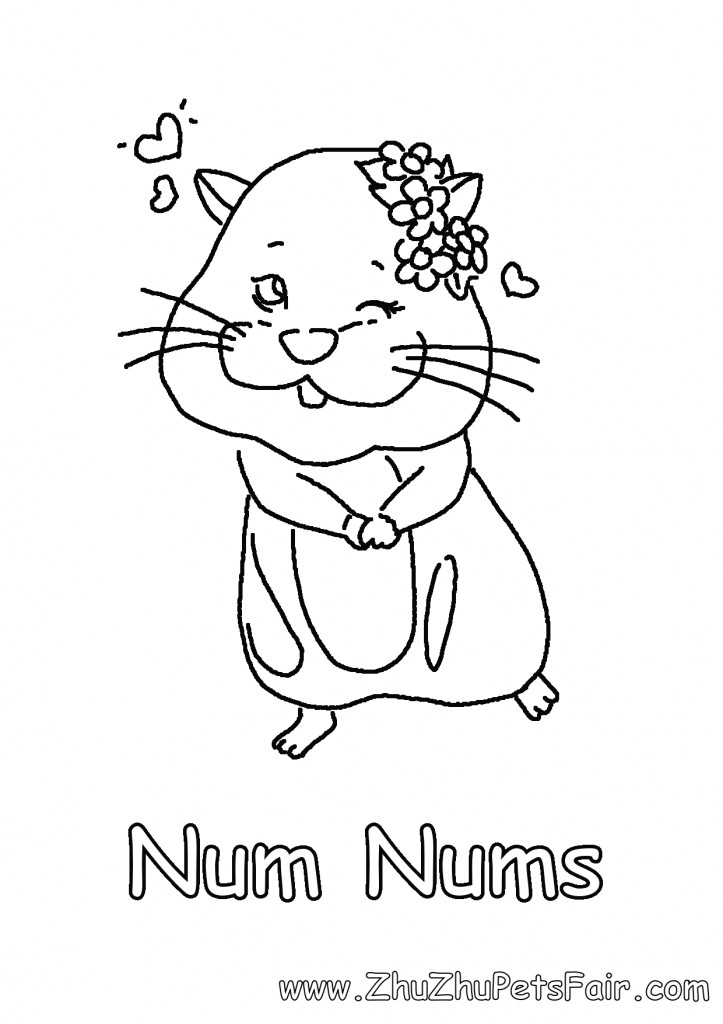 Coloring Pages Of Num Nums Coloring Pages
