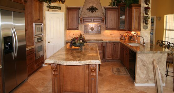 easy kitchen remodel glass door cabinets with details in mind scottsdale living magazine