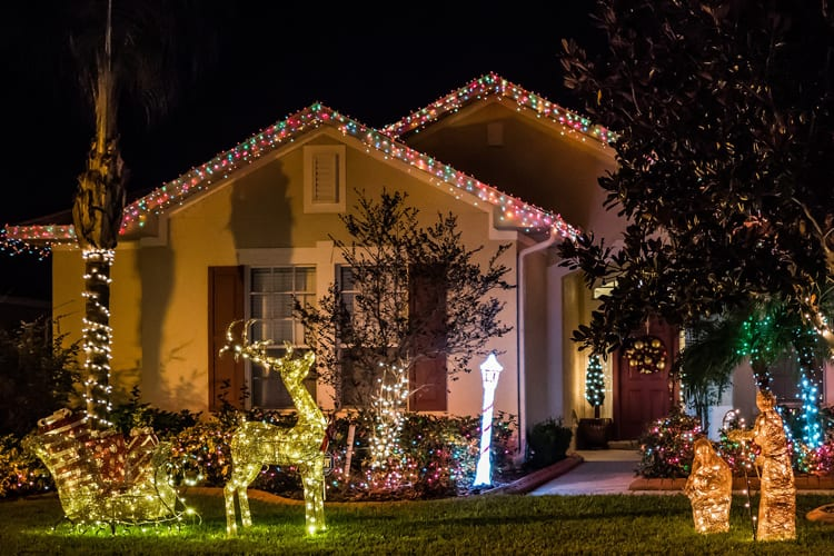 are there christmas light laws in