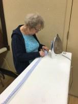 Aunt Rose handling pressing matters.