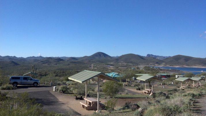 Az Camp Guide Roadrunner Campground Lake Pleasant