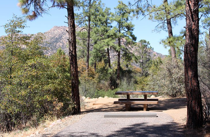 Granite Basin Lake Az.Az Camp Guide Yavapai Campground