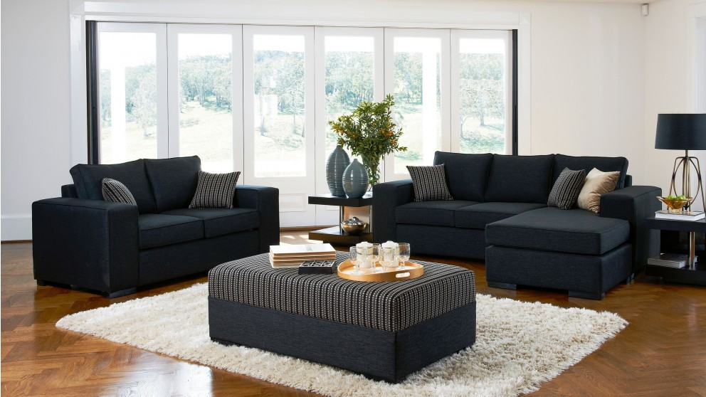 living room furniture melbourne australia for small rooms buy monto 3 piece fabric lounge suite harvey norman au
