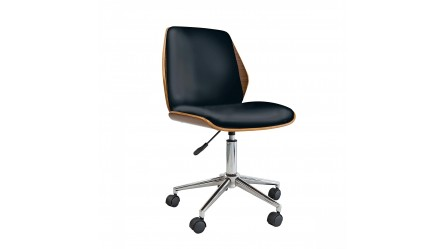 ergonomic chair harvey norman brown leather bucket office chairs - in faux & pvc |