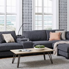 Leather And Fabric Sofa In Same Room Chairs Bed Buying Guide Lounges Harvey Norman Australia