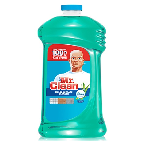 Mr Clean  MultiPurpose Cleaner with Febreze Meadows and Rain