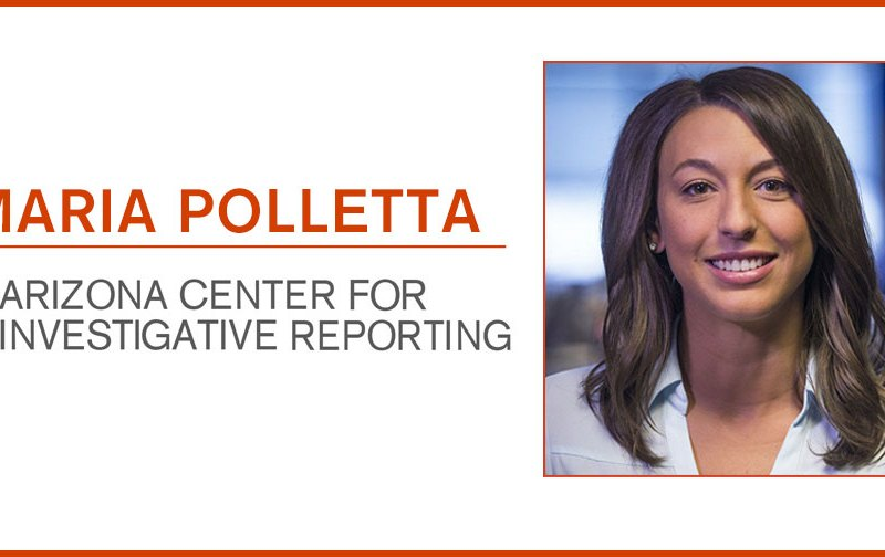 AZCIR has hired Maria Polletta, shown here, as its education reporter.