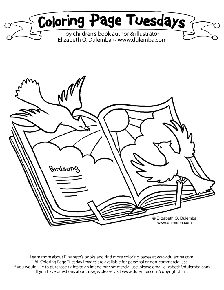 Poems That Rhyme About Animals Sketch Coloring Page