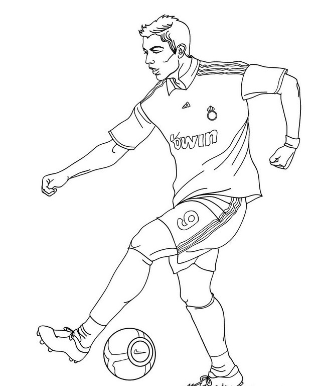 Coloriages Didier Drogba