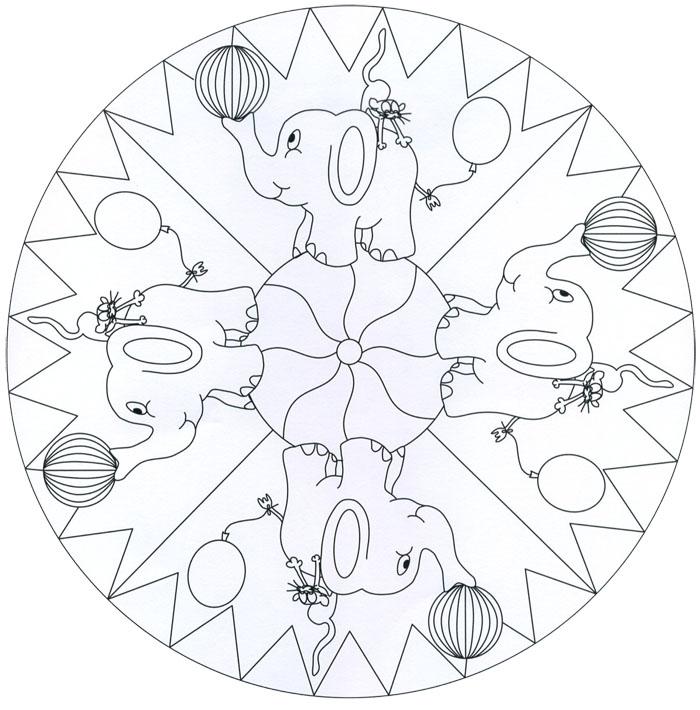Dibujos De Ninos: Mandalas Dibujos Para Colorear Ninos De ...
