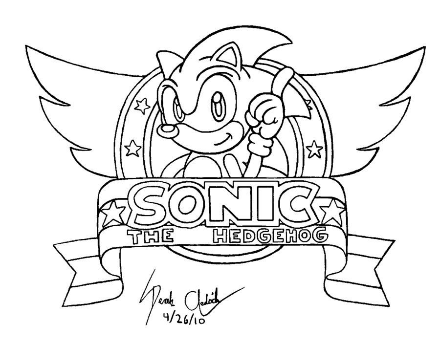 Sonic Espio Pages Coloring Pages