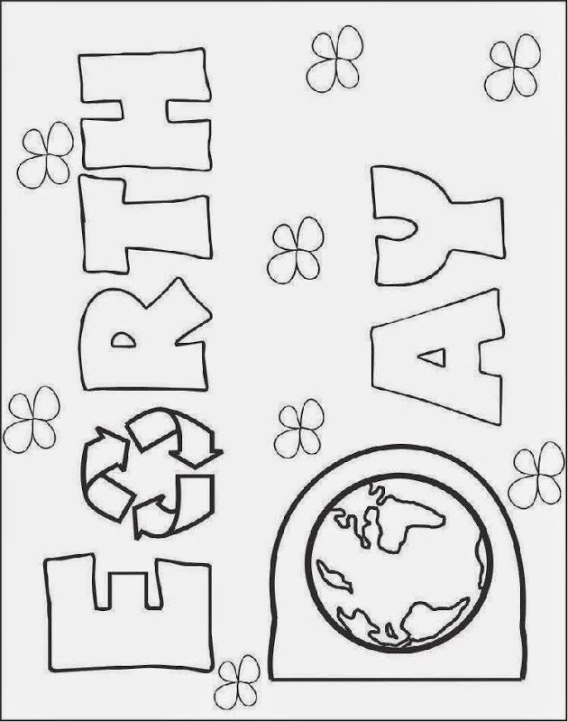 Ecology Pages Coloring Pages