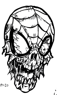 Funny Zombie Coloring Book Pages - AZ Coloring Pages