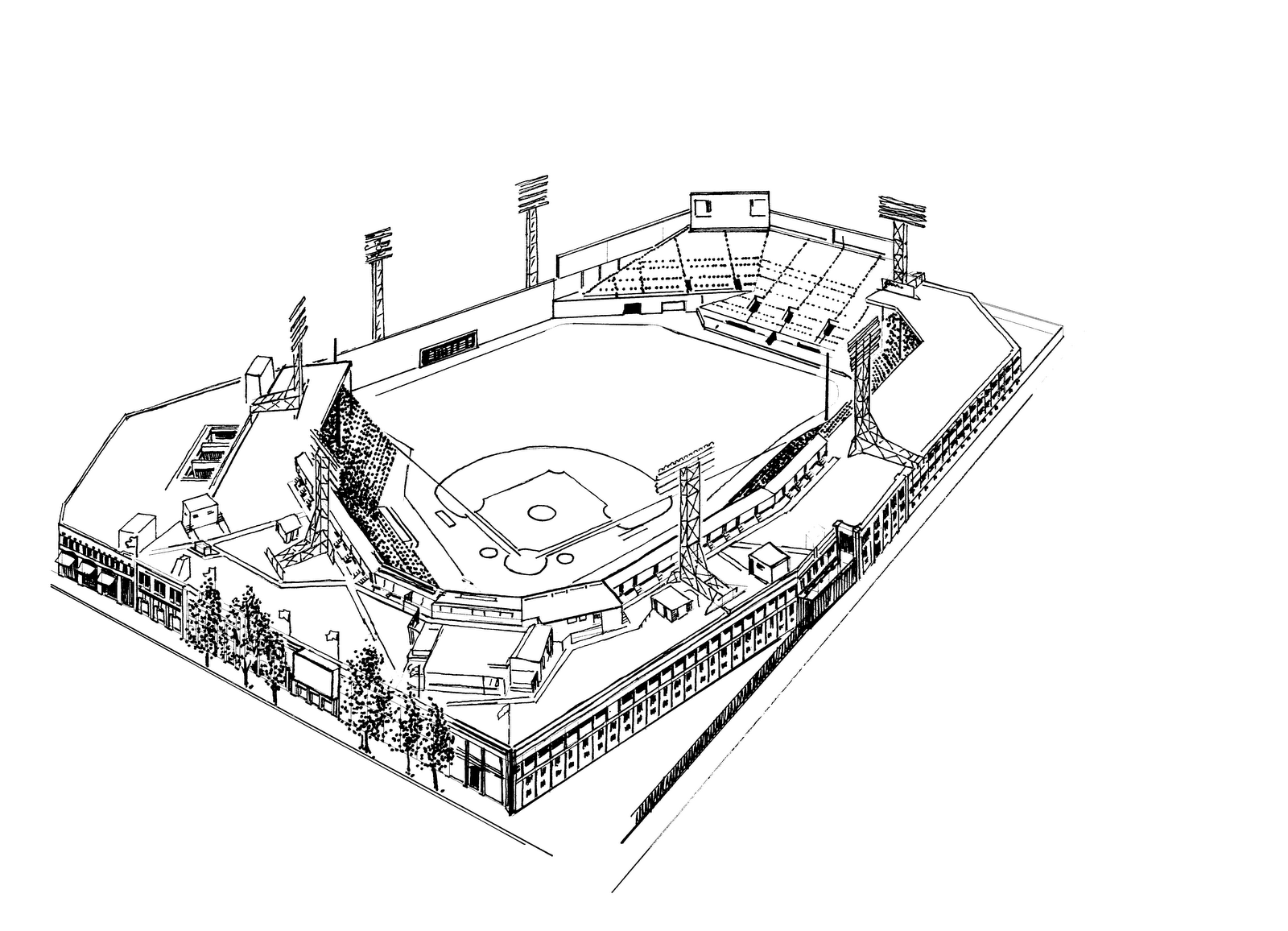 Boston Red Sox Coloring Pages