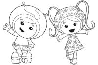 Umizoomi Coloring Pages - Coloring Home