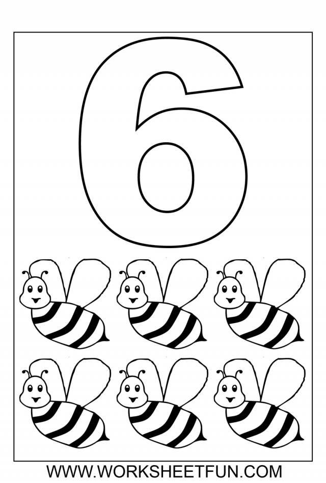 Printable Number 2 Worksheets For All