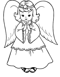 Angel Coloring Pages For Adults - Coloring Home