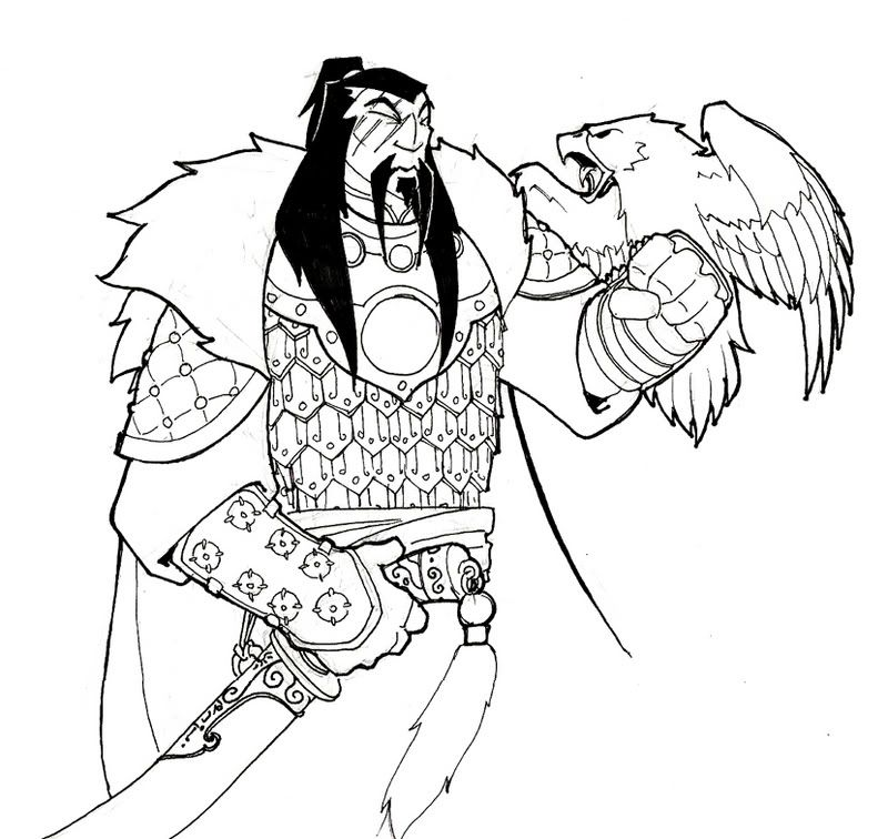 genghis khan coloring page genghis khan coloring sheet