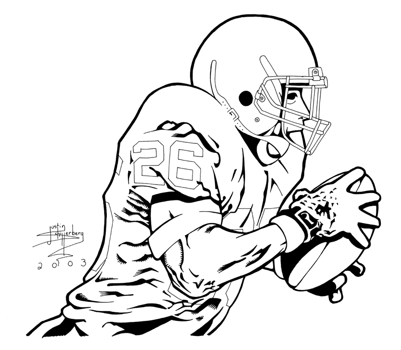 Texas Longhorns Football Coloring Pages Coloring Pages