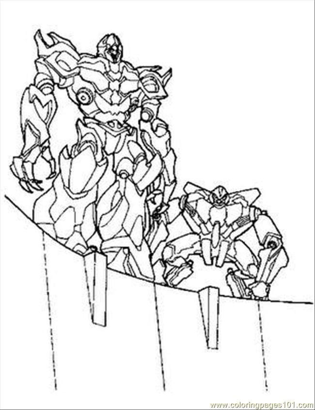 Transformers Bumblebee Coloring Pages Transformer Tr