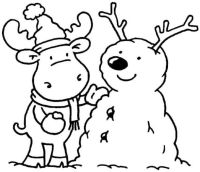 Winter Printable Coloring Pages - Coloring Home