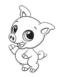 Printable Cute Baby Animal Coloring Pages - Coloring Home