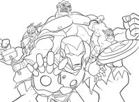 Free Printable Avengers Coloring Pages - Coloring Home