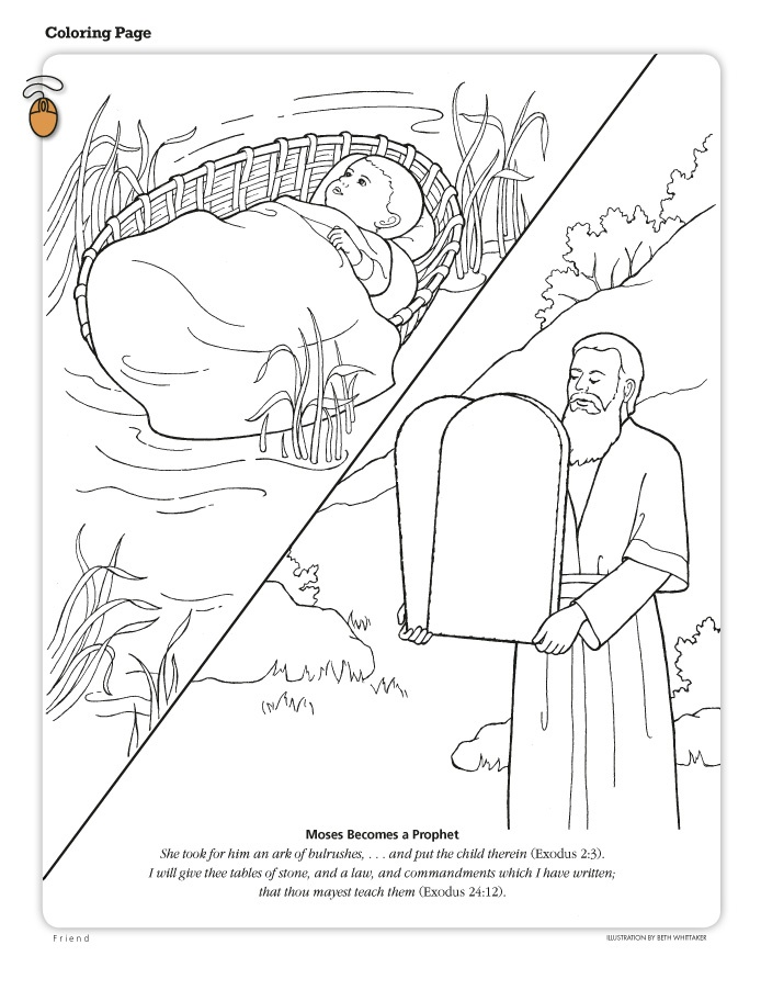 Free coloring pages of dorcas