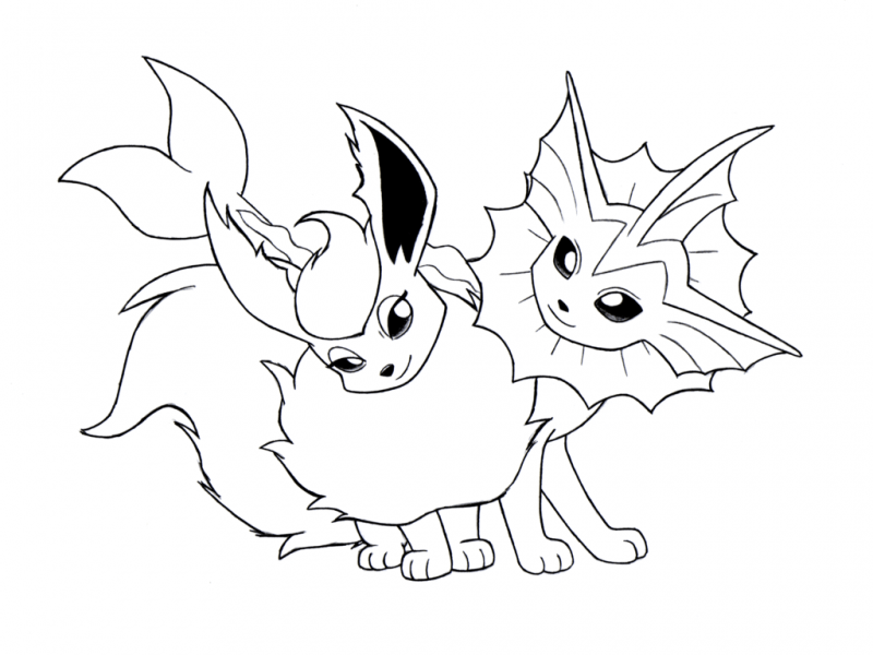 Mega Evolution Coloring Coloring Pages
