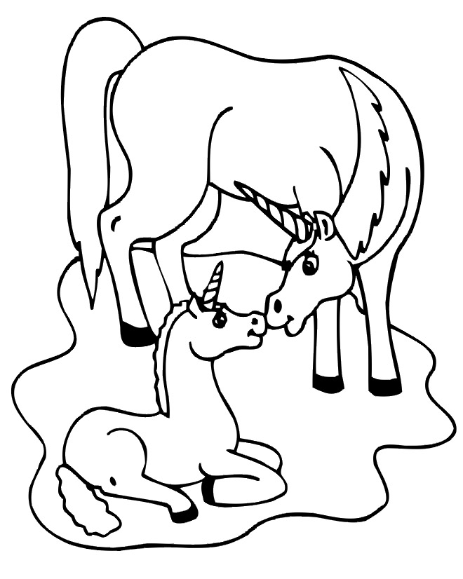 Get This Printable Unicorn Coloring Pages 73400