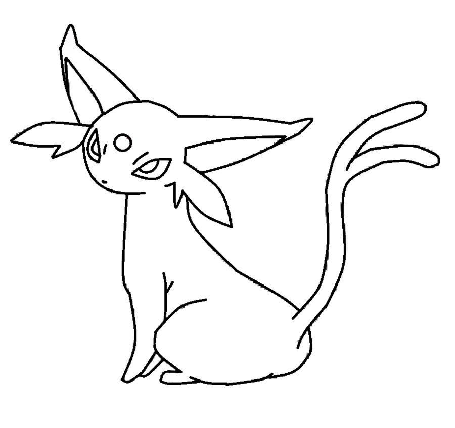 Pin Chibi Eevee Coloring Pages on Pinterest
