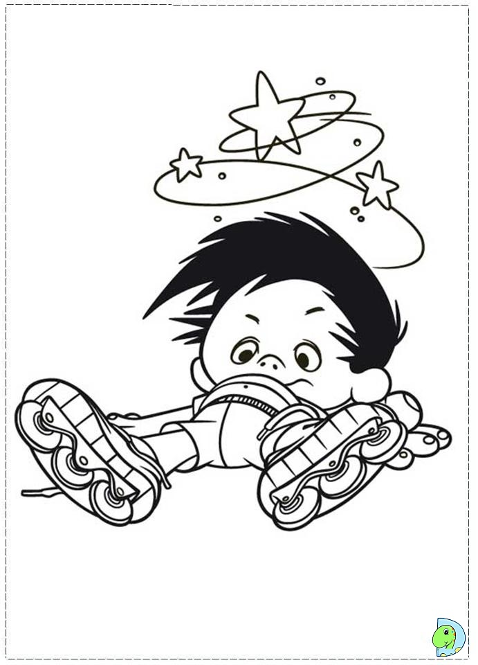 Bobby Jack Coloring Pages