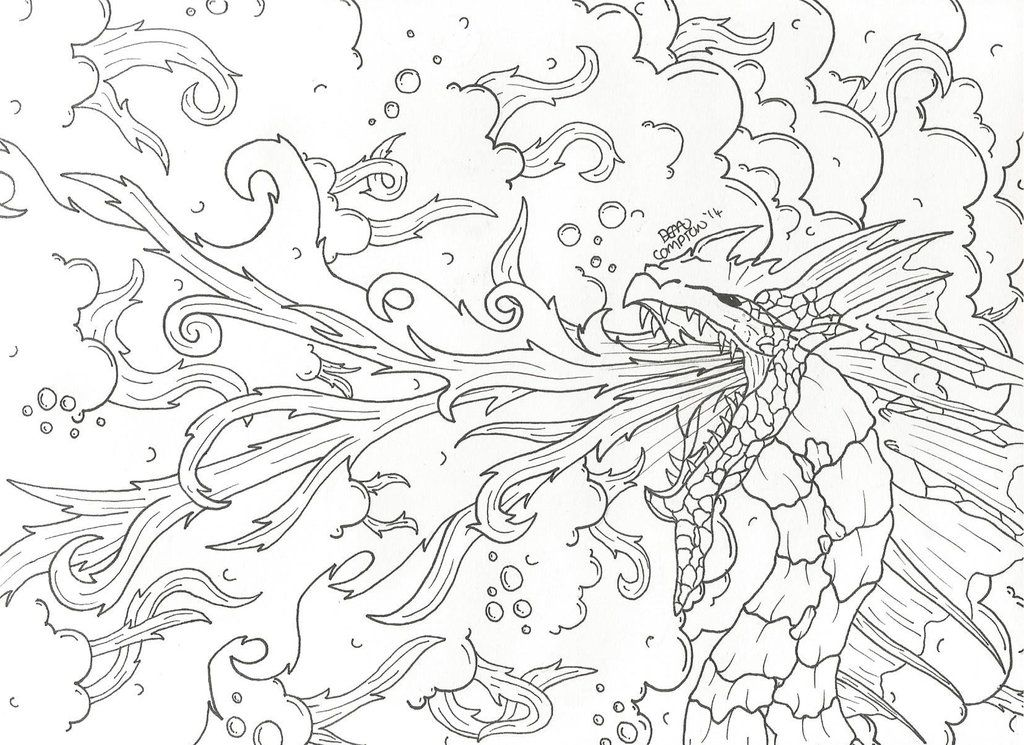 Medieval Baby Dragon Coloring Pages Sketch Coloring Page