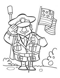 Veterans Day Remembrance - Coloring Home