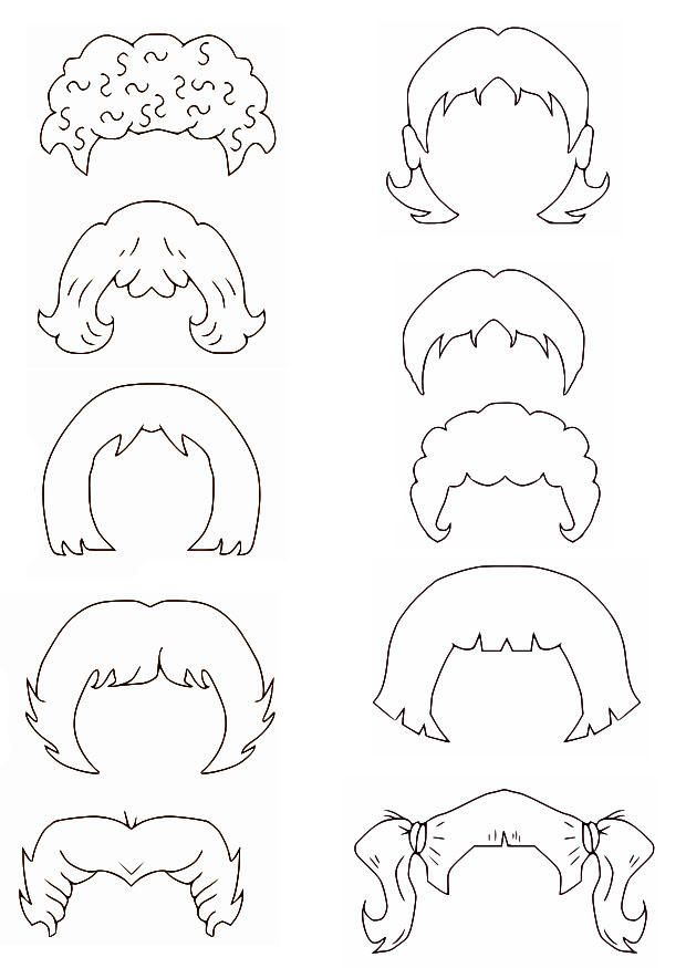 Coloring Curly Hair Guy Coloring Pages
