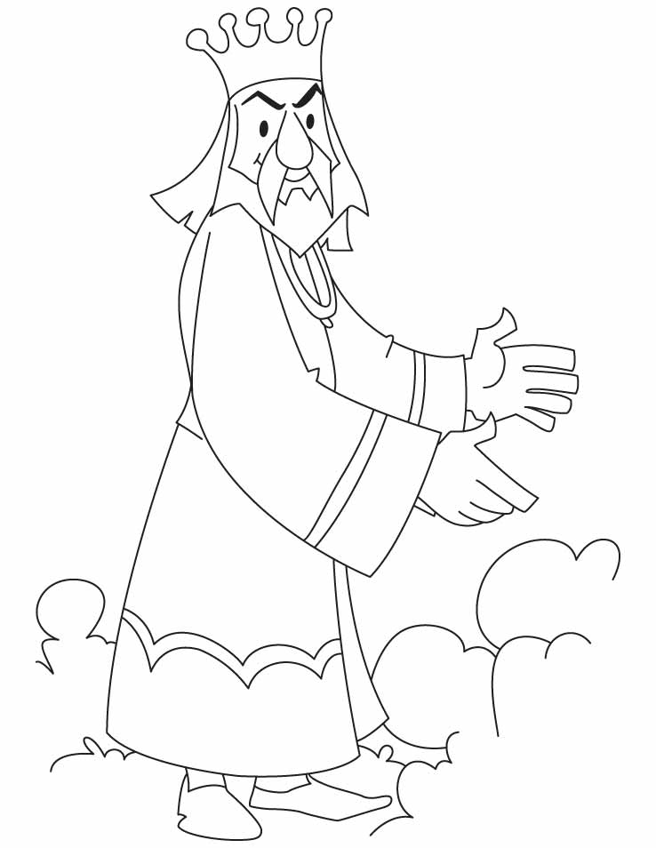 King Herod Page Coloring Pages