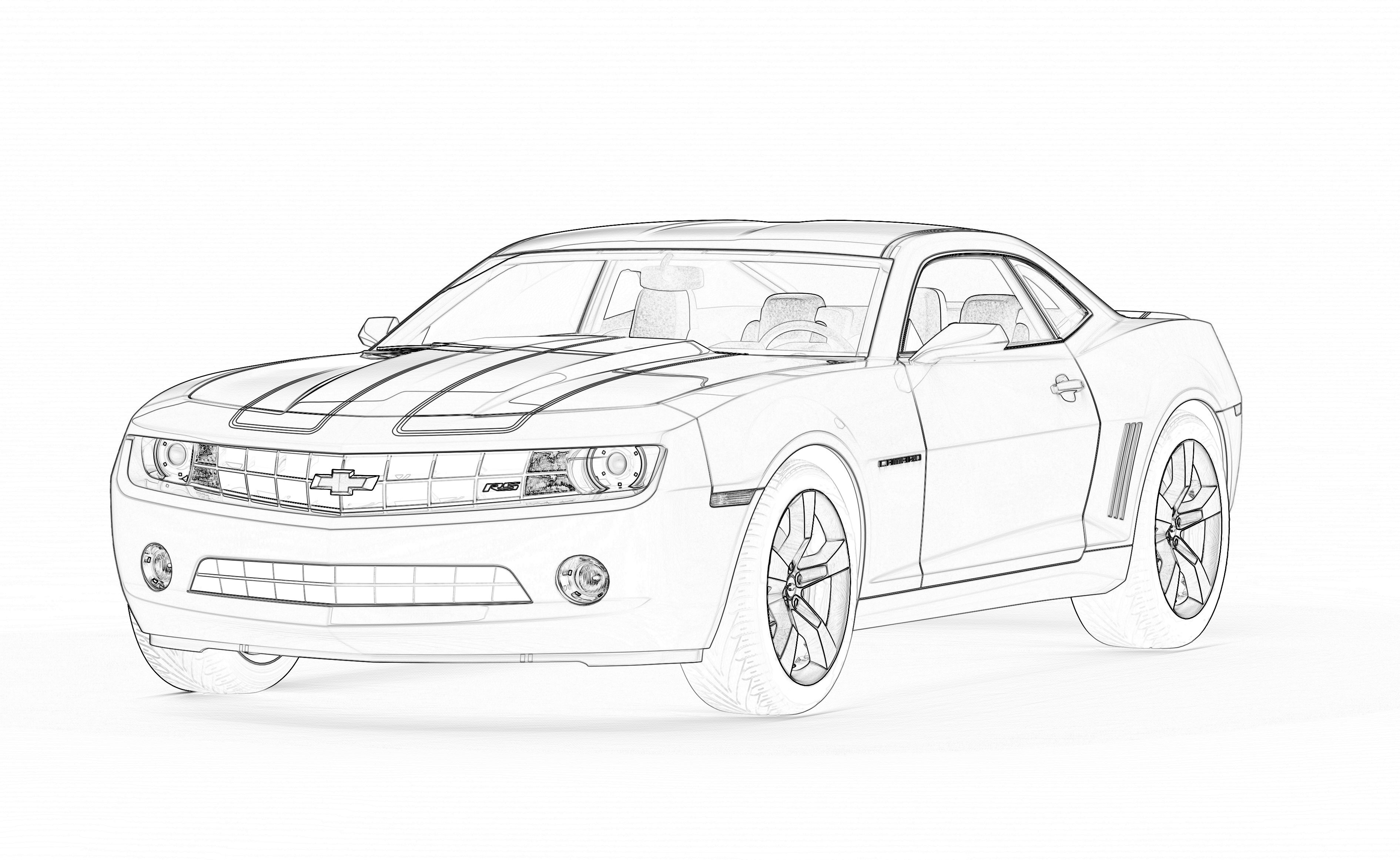 69 Camaro Coloring Pages Coloring Pages