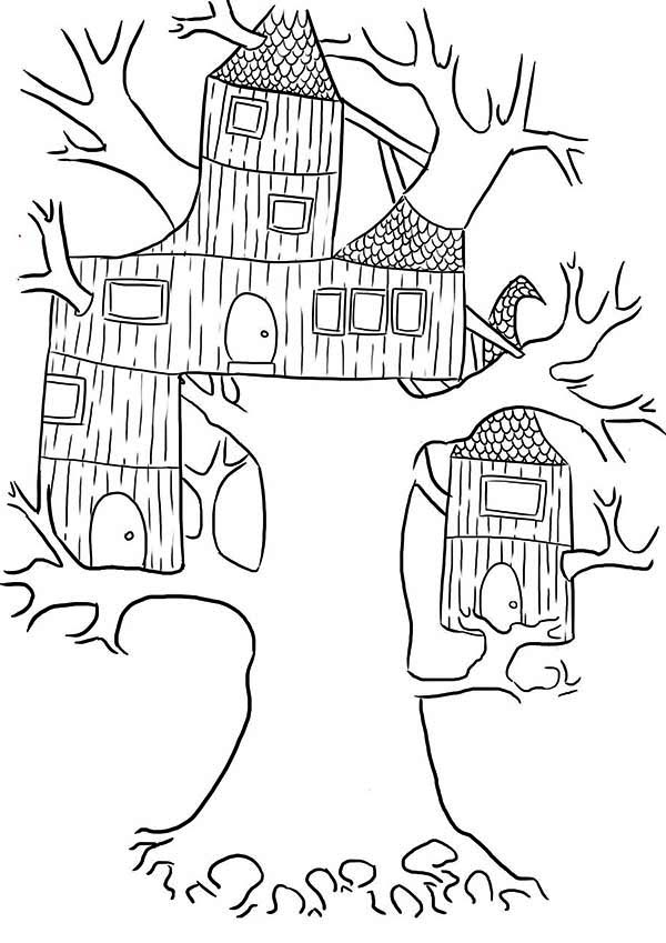My Little House Coloring